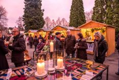 Advent in the palace courtyard in Friedrichshafen